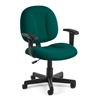 Comfort Series Superchair with Arms, Teal