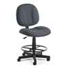 Comfort Series Superchair with Drafting Kit, Gray