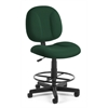 OFM Comfort Series Superchair with Drafting Kit, Green