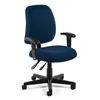 Posture Task Chair with Arms, Navy