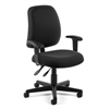 Posture Task Chair with Arms, Black