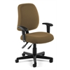 OFM Posture Task Chair with Arms, Taupe