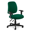 OFM Posture Task Chair with Arms, Green