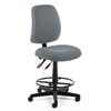 Posture Task Chair with Drafting Kit, Gray