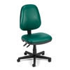 OFM Straton Series Vinyl Task Chair, Teal