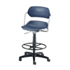 Martisa Series Plastic Task Stool with Drafting Kit