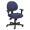 OFM 24 Hour Computer Task Chair with Arms, Blue