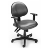 OFM Elements 24 Hour Task Chair with Arms, Olympus Beluga