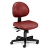 24 Hour Anti-Microbial Vinyl Computer Task Chair, Wine