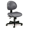 24 Hour Anti-Microbial Vinyl Computer Task Chair, Charcoal