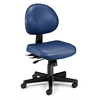 24 Hour Anti-Microbial Vinyl Computer Task Chair, Navy