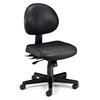 24 Hour Anti-Microbial Vinyl Computer Task Chair, Black