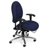 24-Hour Big & Tall Chair, Blue