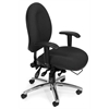 OFM 24-Hour Big & Tall Chair, Charcoal