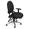 24-Hour Big & Tall Chair, Black