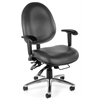 OFM 24-Hour Big & Tall Chair - Vinyl, Charcoal