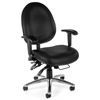 24-Hour Big & Tall Chair - Vinyl, Black
