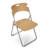 OFM Flexure Folding Chair, Butterscotch
