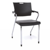 OFM Smart Series Stack Chair, Black