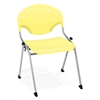 Rico Stack Chair without Arms, Lemon Yellow