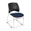 OFM Stars Series Stack Chair, Charcoal
