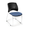 OFM Stars Series Stack Chair, Colonial Blue