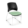 OFM Stars Series Stack Chair, Sage Green