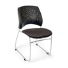 OFM Stars Series Stack Chair, Graphite