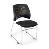 Stars Series Stack Chair, Black