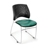 OFM Stars Stack Vinyl Chair, Teal