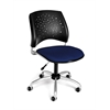 OFM Stars Swivel Chair, Charcoal
