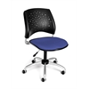 Stars Swivel Chair, Colonial Blue