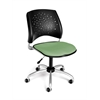 OFM Stars Swivel Chair, Sage Green