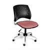 OFM Stars Swivel Chair, Coral