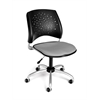 OFM Stars Swivel Chair, Putty