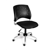 OFM Stars Swivel Chair, Black