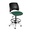 OFM Stars Swivel Stool, Shamrock Green