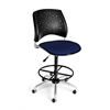 OFM Stars Swivel Stool, Charcoal