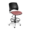 OFM Stars Swivel Stool, Coral