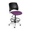 OFM Stars Swivel Stool, Plum