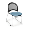 OFM Moon Stack Chair, Black