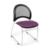 OFM Moon Stack Chair, Plum