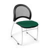 Moon Stack Chair, Forest Green