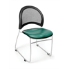 OFM Moon Stack Vinyl Chair, Teal