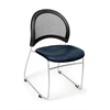 OFM Moon Stack Vinyl Chair, Navy