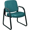 Guest/Reception Chair (Vinyl), Teal