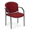 Manor Series Guest/Reception Chair (4 legs), Wine