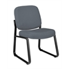 Armless Guest / Reception Chair Gray