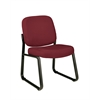 OFM Armless Guest / Reception Chair Wine