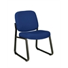 OFM Armless Guest / Reception Chair Navy
